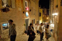 Old Town Rovinj and Church of St. Euphemia