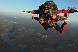 Panoramic flights or a parachute jump