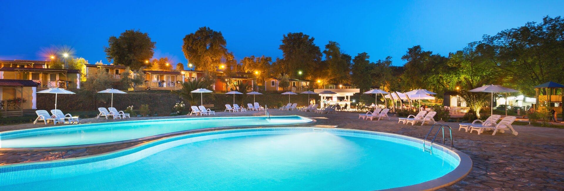 Aminess Park Mareda Campsite Relax Village pools II
