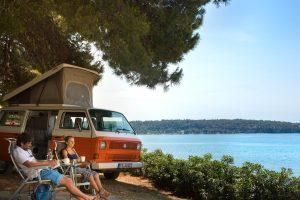 Campeggio Aminess Sirena - piazzole vicino al mare | AdriaCamps