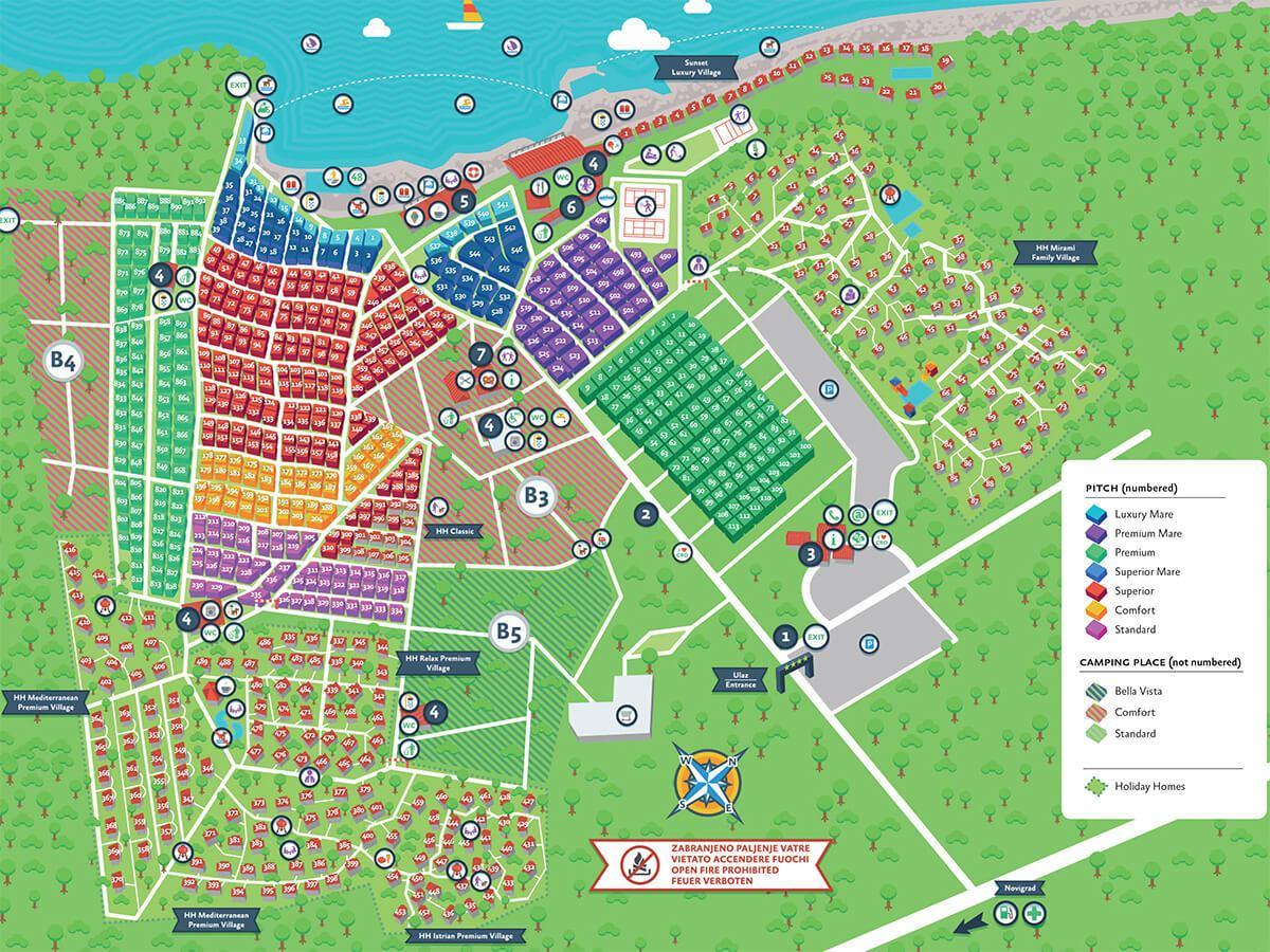 Mapa kampa