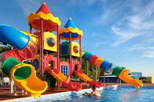 Campingplatz Aminess Park Mareda Mirami Village Pool Attraktionen | AdriaCamps