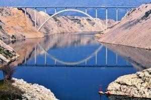 Dalmacija Zadar Pag bridge