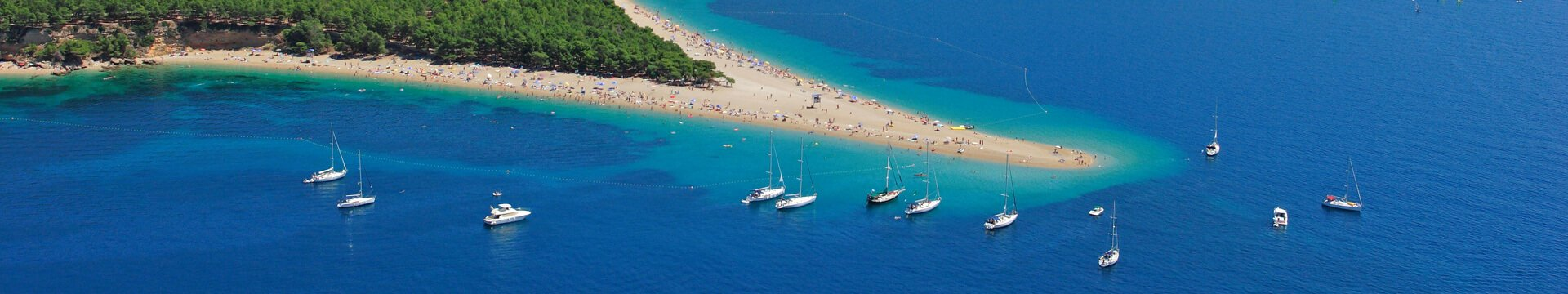 Brac, Beach Zlatni rat | Adria Camps