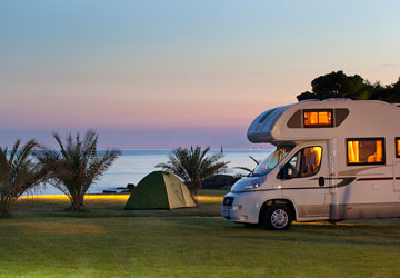 Campings in Novigrad | AdriaCamps