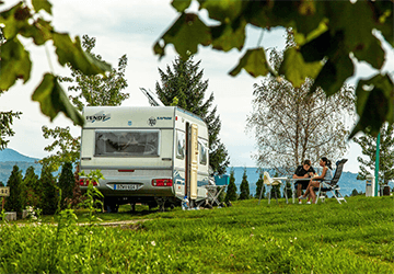 Campsites in Continental Croatia