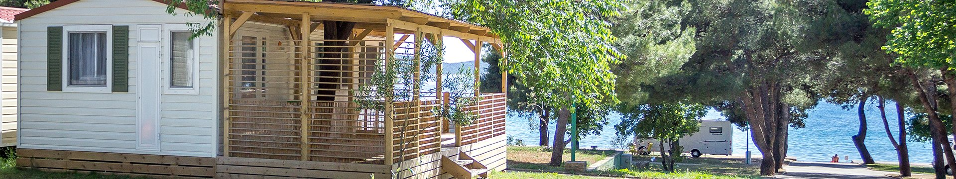 Stacaravans homes in region Dalmatia-Šibenik | AdriaCamps