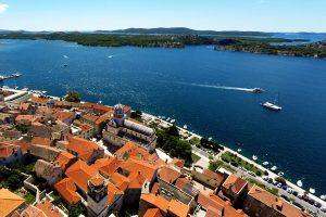 Sibenik air view