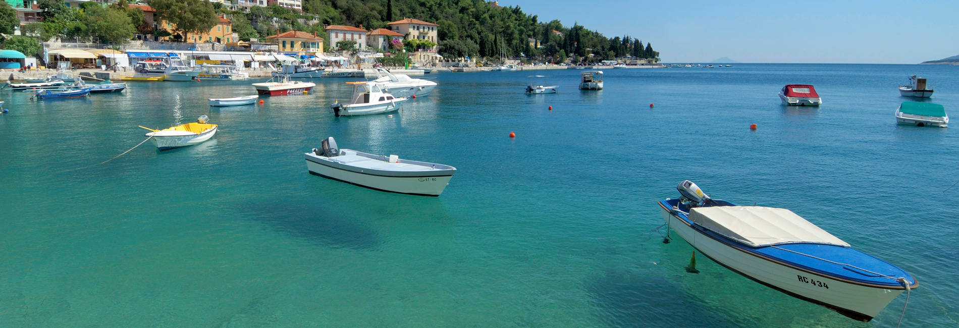 Sea at Labin end Rabac | Adria Camps