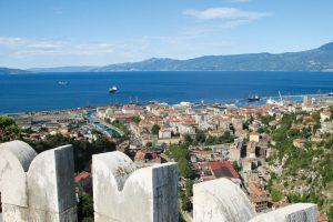 Rijeka view from trsat