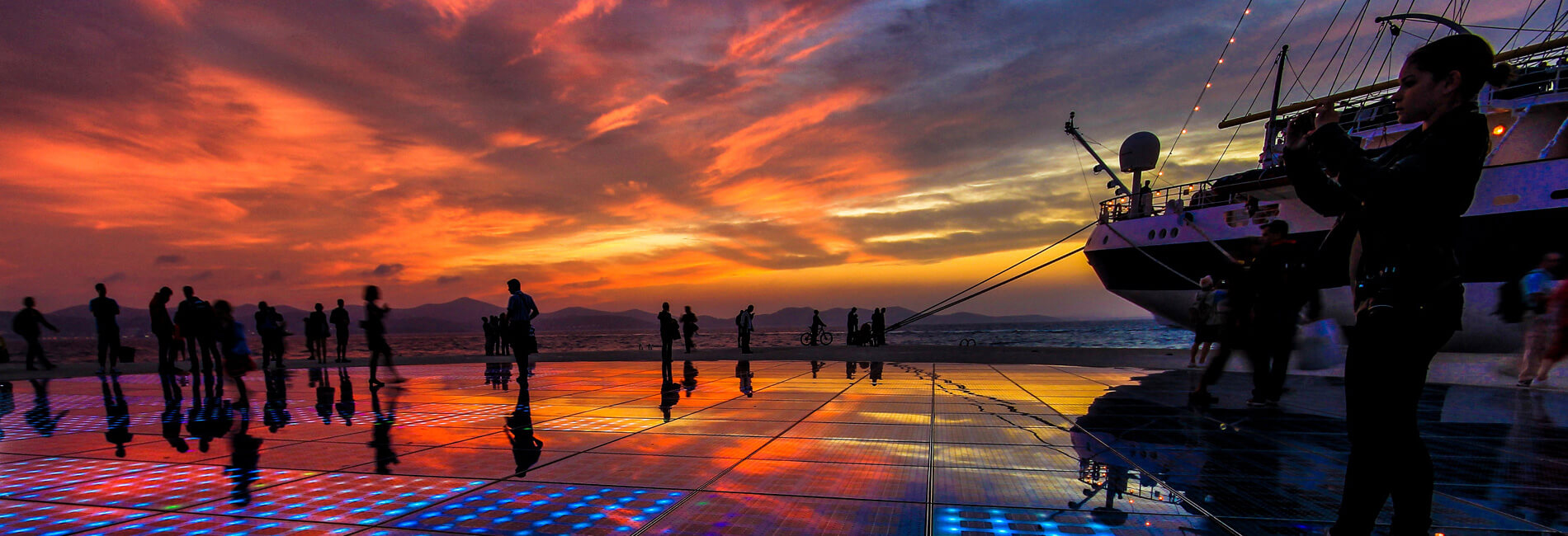 Zonsondergang Zadar | Adria Camps