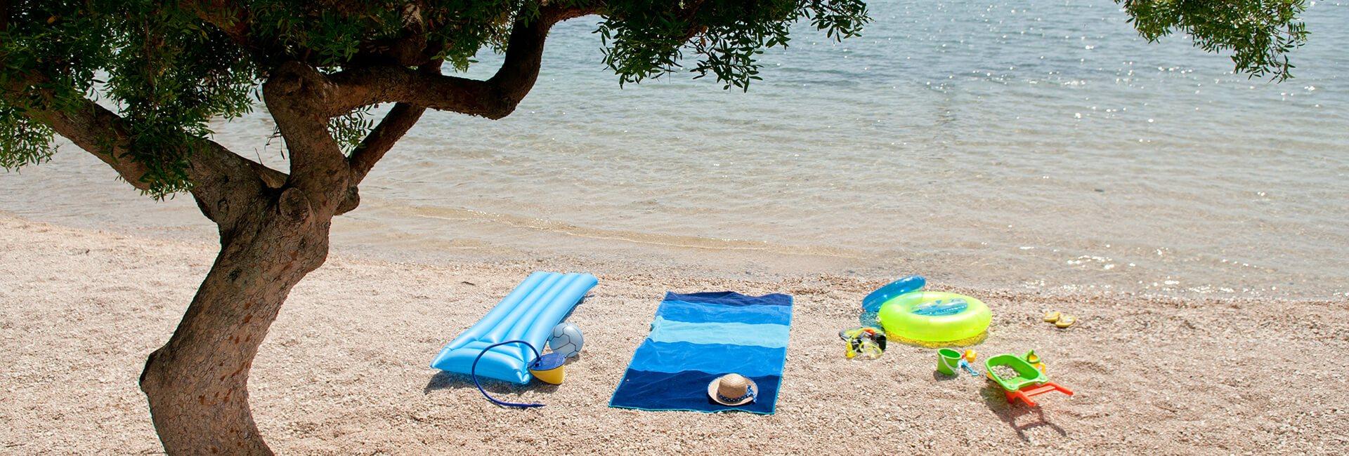 Kamp Veštar plaža | AdriaCamps