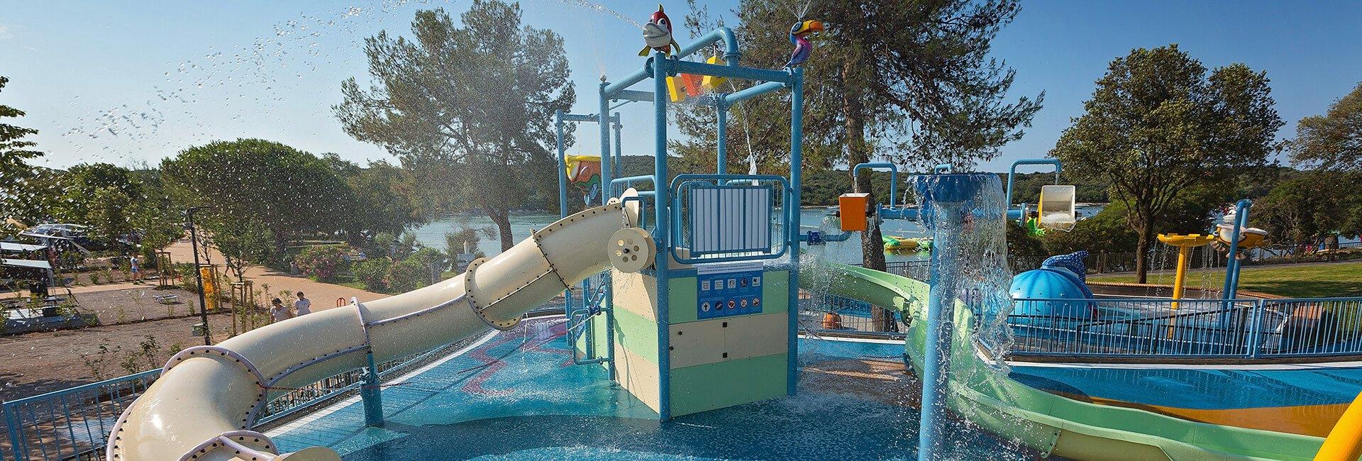 Kamp Veštar Spray park | AdriaCamps