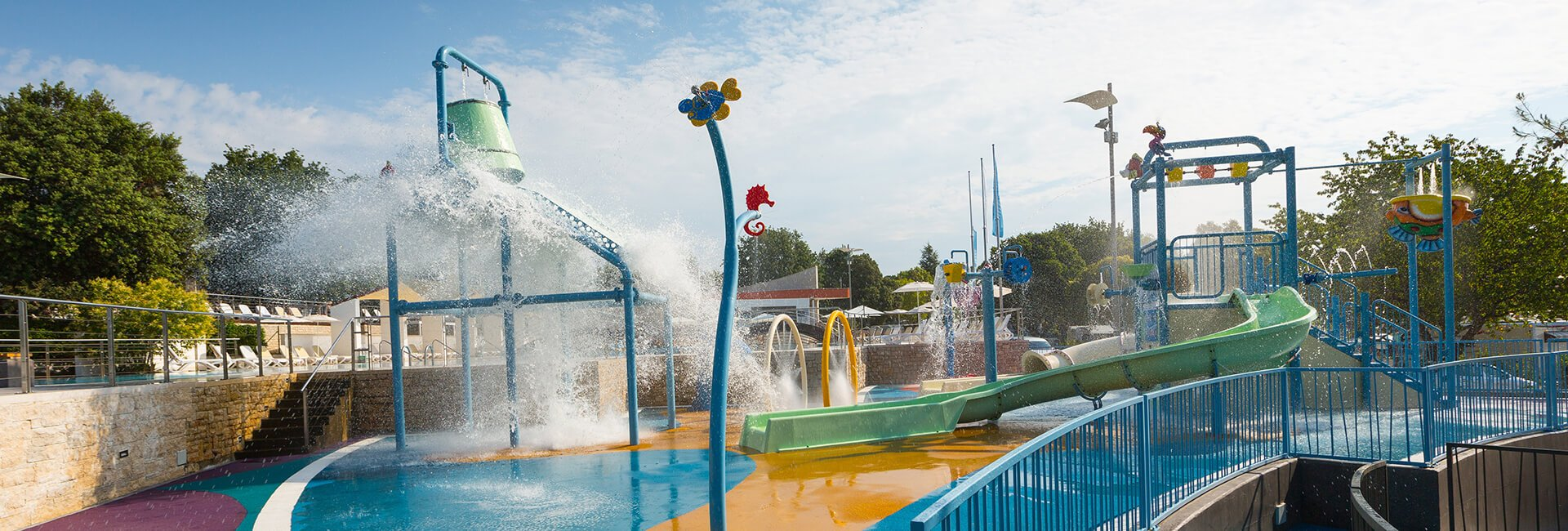 Kamp Veštar Spray park | AdriaCamps