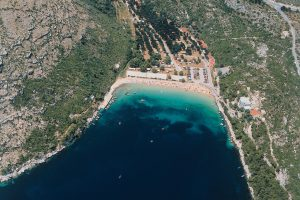 Camping on Peljesac
