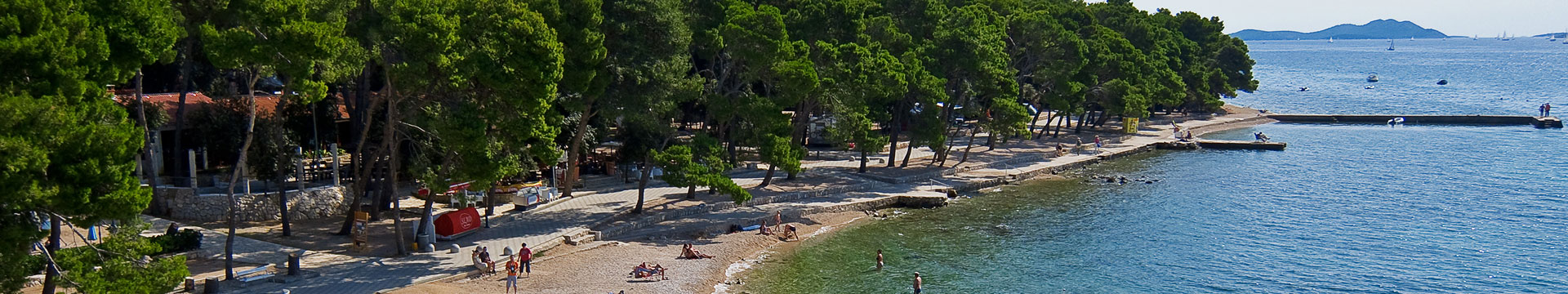 Camping on the Biograd na Moru | AdriaCamps