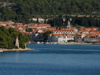 Korcula view from the sea