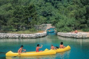 Mljet kayaking