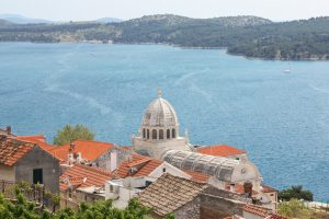 Sibenik air view V