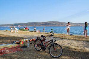 Town Starigrad Paklenica beach IV