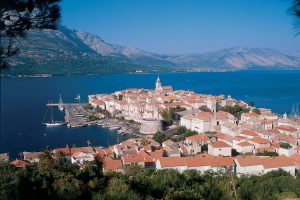 View on Korcula
