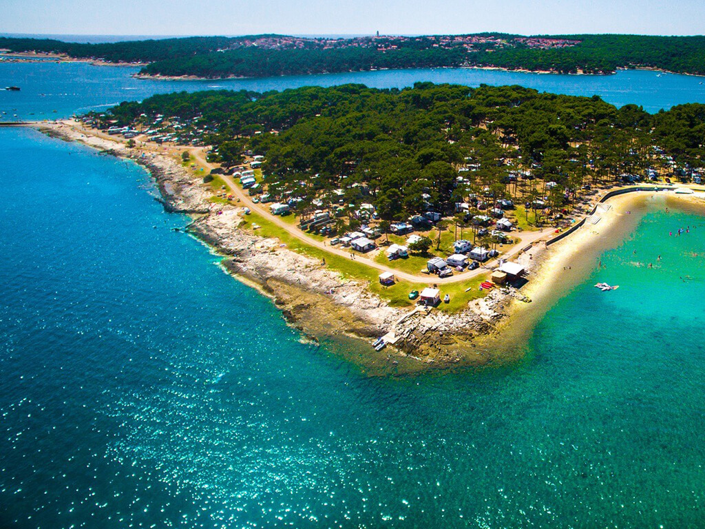 medulin istrien karte Campingplatz Arena Medulin   Medulin, Istrien | AdriaCamps