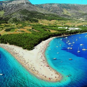 Beach Zlatni Rat | Adria Camps