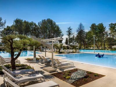 Camping Valkanela new swimming pool