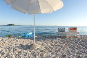 Cameggio Amarin Rovinj  spiaggia | AdriaCamps