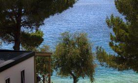 Kamp Belvedere Vranjica: mobilne kucice uz more | AdriaCamps