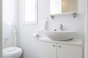 Camping Belvedere Vranjica stacaravans toilete | AdriaCamps