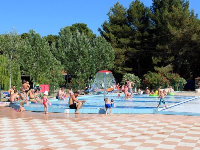 Camping BiVillage swimming pool relax