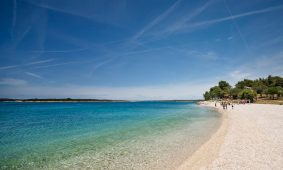 Kamp Brioni plaža | AdriaCamps