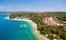 Kamp Brioni puntizela pogled iz zraka | Adria Camps
