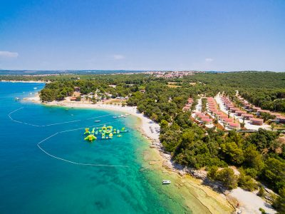 Camping Brioni Puntizela view from air | Adria Camps