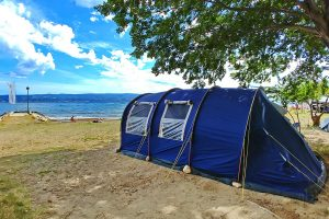 Campsite Galeb tents near the sea | AdriaCamps