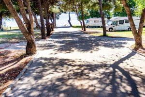 Beach - Campingplatz Imperial Vodice