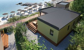 Kamp Jezevac: nova mobilna kuca Lungomare Premium | AdriaCamps