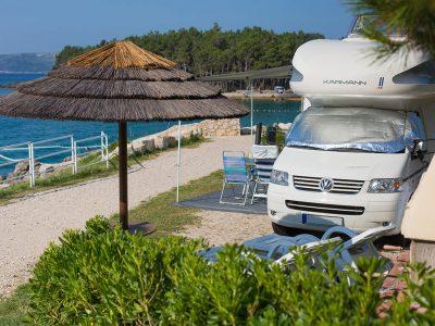 Kamp Jezevac Luxury mare parcela | AdriaCamps