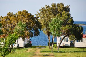 Camping Kazela mobile homes by the sea