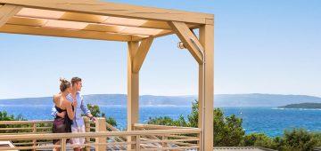 Bella Vista Premium – garden terrace - Camping Resort Krk