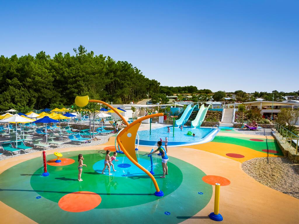 Campeggio Krk nuovo parco acquatico per bambini
