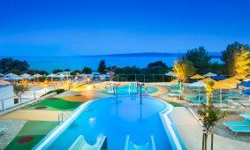 Kamp Krk novog aquaparka za djecu po noci