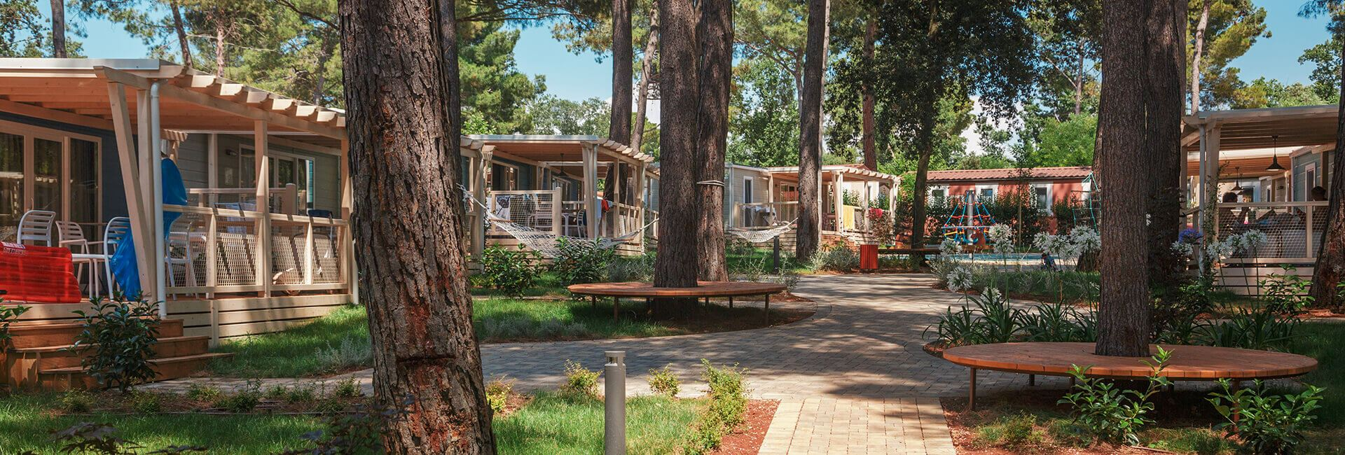 Campsite Resort Lanterna mobile homes