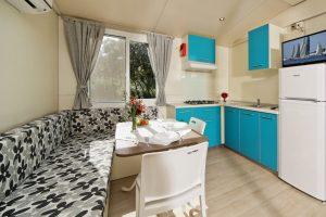 campeggio Lopari case mobili interno