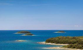 Kamp Orsera pogled na otvoreno more i otoke | AdriaCamps