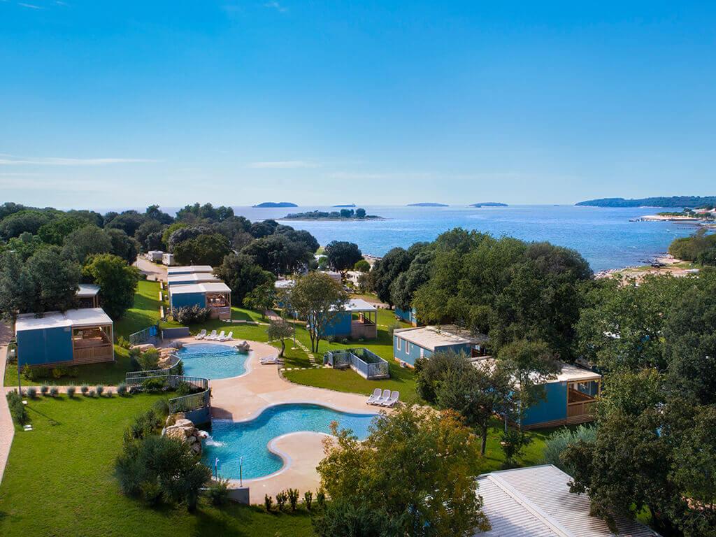 Campsite Polari Premium Family mobile homes near the sea | AdriaCamps