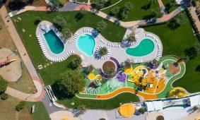 Kamp Polari novi Spray park i bazen pogled na more | AdriaCamps