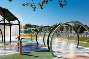 Campsite Polari new spray park attractions | AdriaCamps