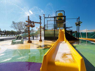 Campingplatz Polari, Spray Park Tobogan | AdriaCamps